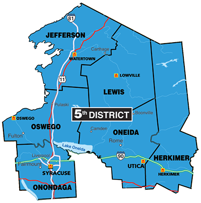 Map Of New York Judicial Districts.Court Officer Trainee Work Locations 5th Judicial District