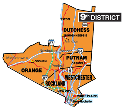 Map Of New York District Courts.Court Officer Trainee Work Locations 9th Judicial District