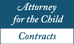 Attorney for the Child Contracts