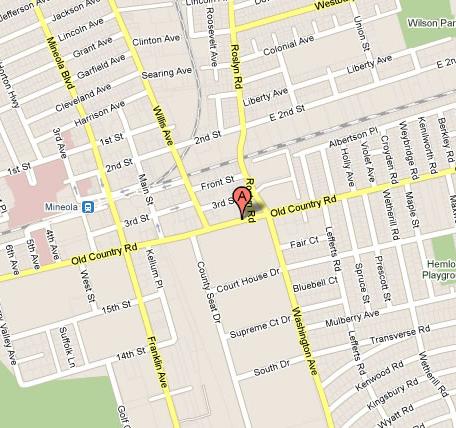 Printable Street Maps Directions   Nassau   10th JD | NYCOURTS.GOV