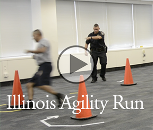 Illinois Agility Run video
